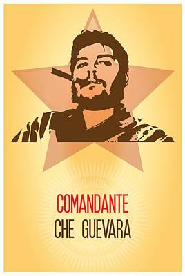Painting - El Comandante Che Guevara by Florian Rodarte