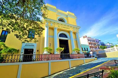 Photograph - El Convento by Ricardo J Ruiz de Porras