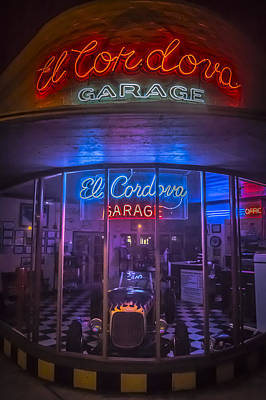 Photograph - El Cordova Garage by Dave Hall