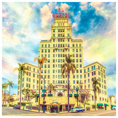 Photograph - El Cortez by Chris Lord