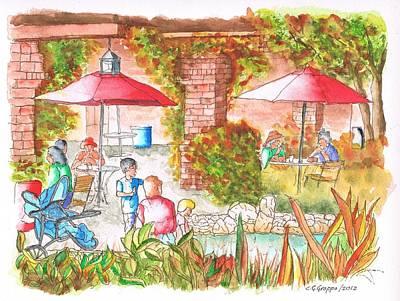 El Descanso Cafeteria, Arcadia, California Original by Carlos G Groppa