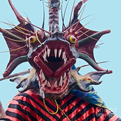 Carneval Photograph - El Diablo by Heiko Koehrer-Wagner