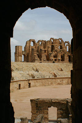 Photograph - El Djem by Jon Emery