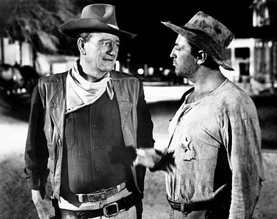 El Dorado, From Left, John Wayne Art Print