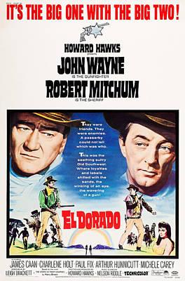 El Dorado, John Wayne, Robert Mitchum Art Print