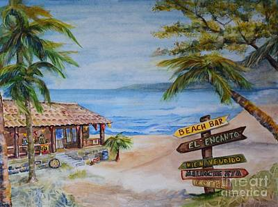 Painting - El Encanto by Pamela Shearer
