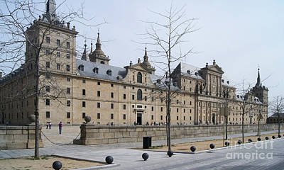 Photograph - El Escorial Spain 1 by Rudi Prott
