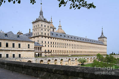 Photograph - El Escorial Spain 2 by Rudi Prott