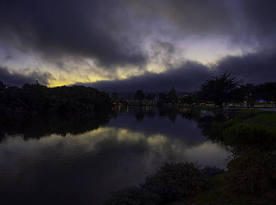 Photograph - El Estero Evening by Derek Dean
