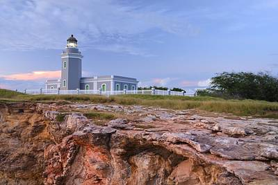 Photograph - El Faro Lighthouse by Photography  By Sai