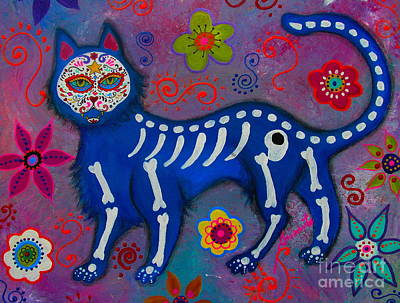 Painting - El Gato Azul by Pristine Cartera Turkus