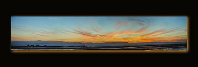 Photograph - El Golfo De Santa Clara Sunset Pan 1 by Jeff Brunton