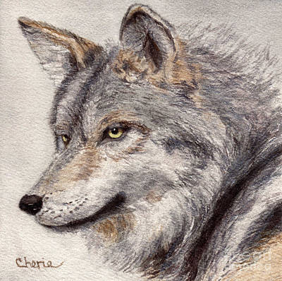 El Lobo Art Print by Vikki Wicks