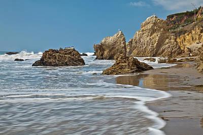 Bennett Photograph - El Matador State Beach, Malibu, Los by Peter Bennett