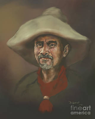 Digital Art - El Mestizo by Dwayne Glapion