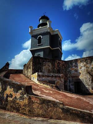Castillo San Felipe Del Morro Photograph - El Morro 001 Color by Lance Vaughn