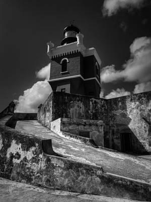Castillo San Felipe Photograph - El Morro 001 by Lance Vaughn