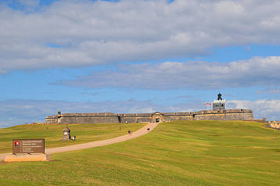 Photograph - El Morro by Alan Lenk