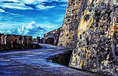 El Morro Digital Art - El Morro Fortress Old San Juan by Thomas R Fletcher