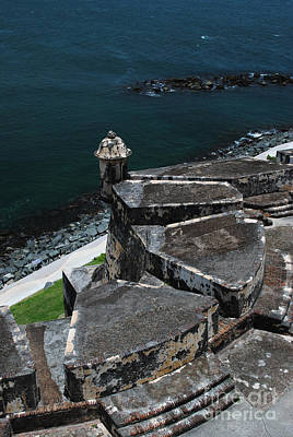 Photograph - El Morro From Above by George D Gordon III