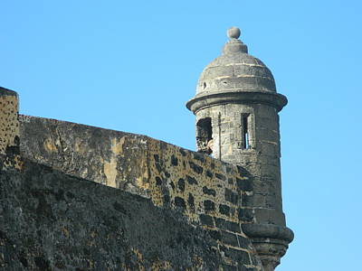 Photograph - El Morro Parapet 1 by David  Ortiz