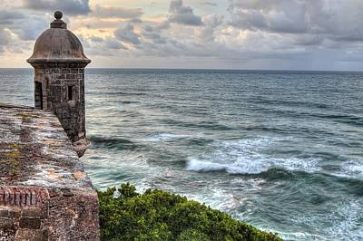 Puerto Photograph - El Morro Sunset by Ryan Smith