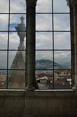 Photograph - El Panecillo From Basilica by Steven Richman