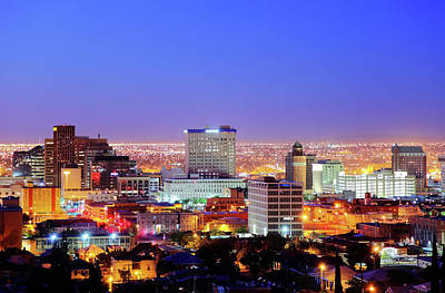 Cityscapes Photograph - El Paso by Denistangneyjr