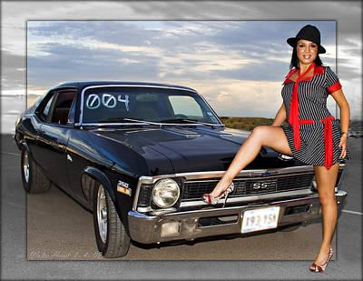 Pop Art - El Paso Drag25 by Walter Herrit