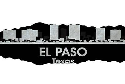 Elpaso Mixed Media - El Paso Tx 4 by Angelina Vick