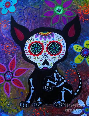 Painting - El Perrito Chihuahua by Pristine Cartera Turkus