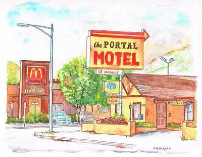 El Portal Motel In Lone Pine - California Original