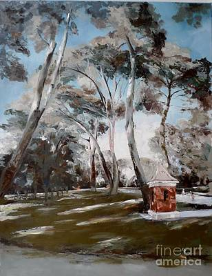 Painting - El Retiro_1 / Madrid by Karina Plachetka