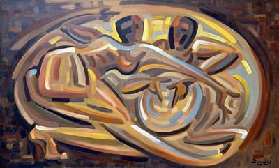 Bomba Painting - El Reto by Samuel Lind