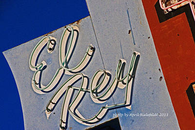 California Photograph - El Rey Motel by April Bielefeldt