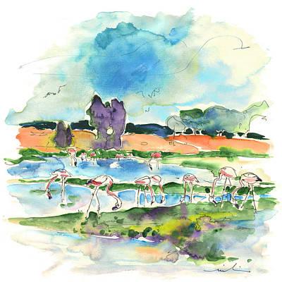 Waterscape Drawing - El Rocio 08 by Miki De Goodaboom