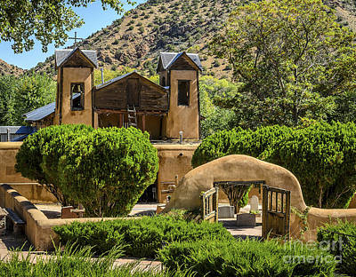 El Sanctuario De Chimayo Art Print