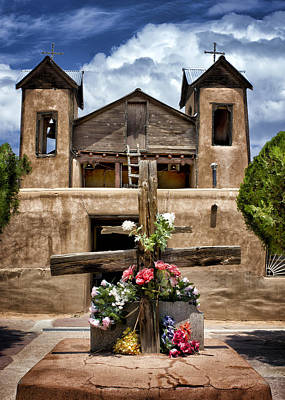 El Santuario De Chimayo #1 Art Print by Nikolyn McDonald