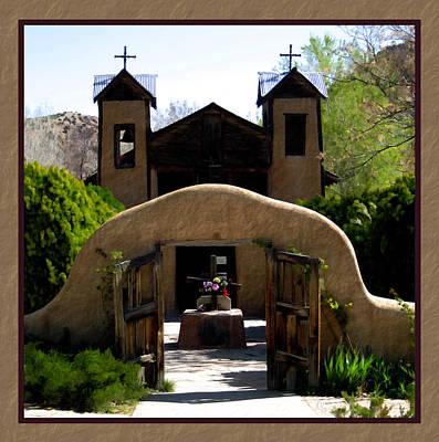 Photograph - El Santuario De Chimayo by Kurt Van Wagner