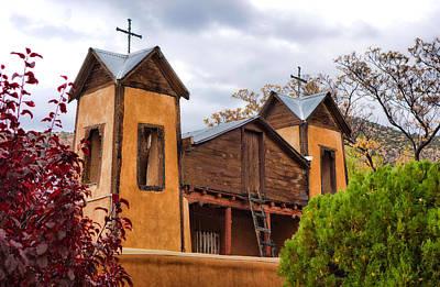 Photograph - El Santuario De Chimayo Study 1 by Robert Meyers-Lussier