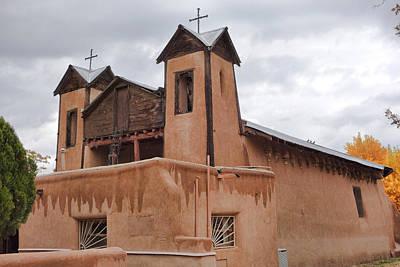 Photograph - El Santuario De Chimayo Study 2 by Robert Meyers-Lussier