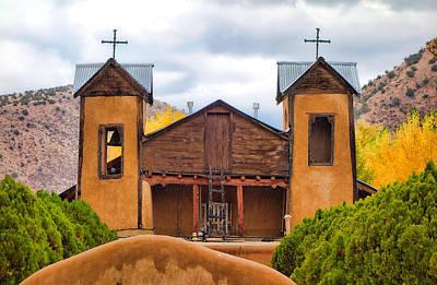 Photograph - El Santuario De Chimayo Study 3 by Robert Meyers-Lussier