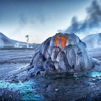 Andes Wall Art - Photograph - El Tatio by Ignacio Palacios