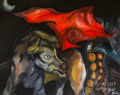 Hispanic Painting - El Torrero by Luis Velez