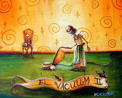 El Vacuum II Original by Heather Calderon