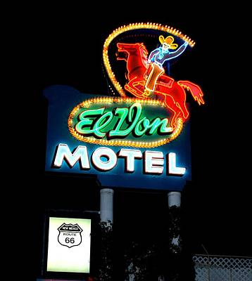 Photograph - El Von - Route 66 by Dany Lison