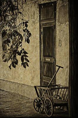Screen Doors Photograph - el Zaguan by Priscilla Burgers