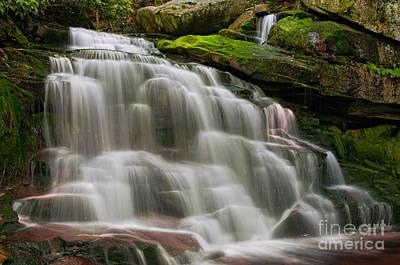 Scenic Photograph - Elakala Falls #2 D30010512 by Kevin Funk