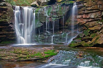Waterfall Photograph - Elakala Falls by Benjamin DeHaven