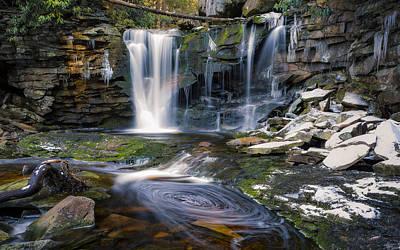 Photograph - Elakala Falls by Eduard Moldoveanu